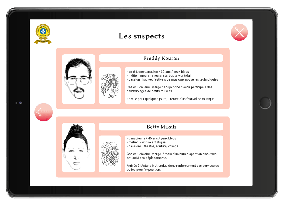 Suspects page 2 application musart